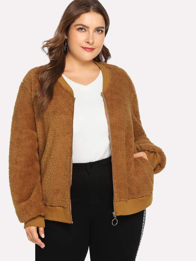 2536764324c Teddy Coat Camel - ShopStyle