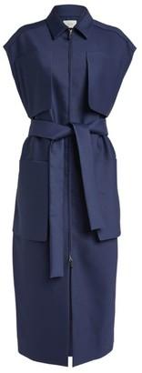The Row Jaan Belted Sleeveless Dress