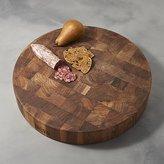 "Crate & Barrel John Boos 18""x3"" Walnut End Grain Cutting Board"