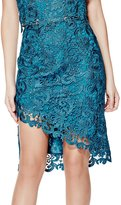 GUESS Collena High-Rise Lace Pencil Skirt