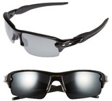 Oakley Men's Flak 2.0 59Mm Polarized Sunglasses - Black