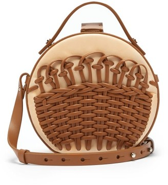 Nico Giani - Tunilla Mini Braided-leather Cross-body Bag - Womens - Tan