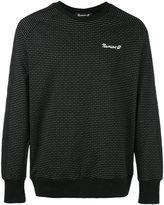 Numero 00 Numero00 - striped sweatshirt - men - Viscose/Polyamide/Spandex/Elastane/Polyester - S