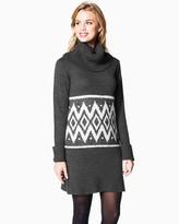 Charming charlie Ski Weekend Sweater Dress