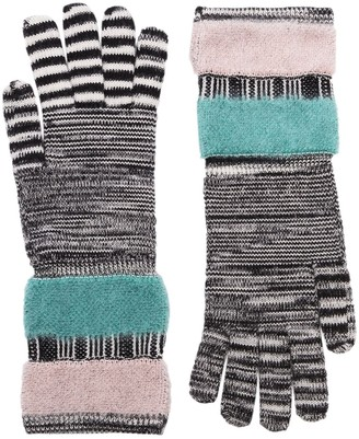 Missoni Stripe Knit Gloves