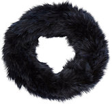 Barneys New York WOMEN'S RABBIT FUR COWL SCARF