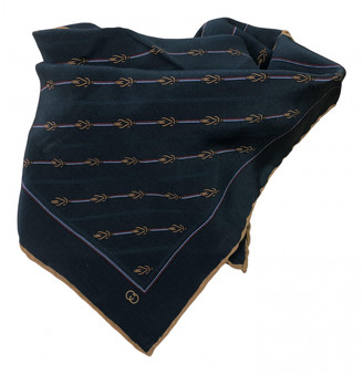 Gucci Green Silk Scarves