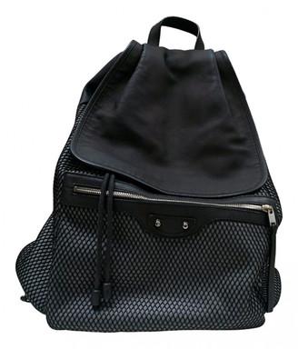 Balenciaga City Multicolour Cloth Backpacks