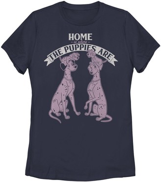 Disney Juniors' Disney's 101 Dalmatians Home Is Where The Puppies Are Graphic Tee