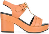 Cotélac - platform buckled sandals - women - Calf Leather/Leather/rubber - 36