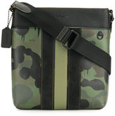 Coach camouflage messenger bag