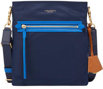 Tory Burch Perry Nylon Colorblock Crossbody Bag