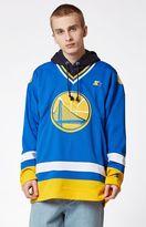 Starter Golden State Warriors NBA Hockey Jersey