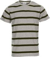 Norse Projects T-shirt Niels Stripe N01 0338 1026 Light Grey Melange