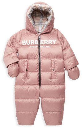 Burberry Baby Girl's Skylar Quilted Snowsuit