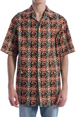 Gucci G Print Bowling Shirt
