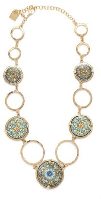 Rosantica Sicilia Tile Necklace - Multi