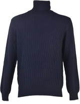 Barba Rolled Collar Sweater