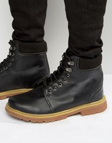 Bellfield Heritage Boots In Black Leather