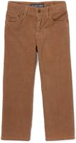 E-Land Kids Brown 16-Wale Slim Corduroy Pants - Toddler & Boys