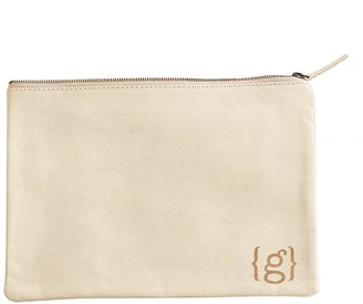 Mark And Graham Everyday Leather Zip Pouch