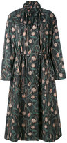 Isabel Marant floral print coat - women - Cotton/Linen/Flax - 36
