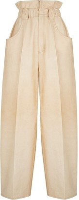 Fendi Gathered High-Waist Trousers