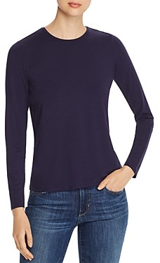 Eileen Fisher Petites Eileen Fisher System Petite Long-Sleeve Tee