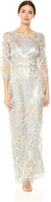 Tahari by Arthur S. Levine Women's Metallic Embroidery