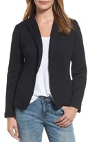 Olivia Moon Women's Elbow Patch Knit Blazer