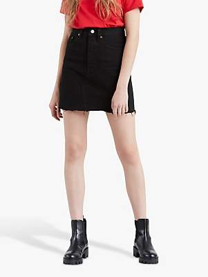 Levi's Iconic Button Fly Skirt, Left Behind