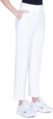 Akris Punto Ferry High-Waist Jersey Boyfriend Pants
