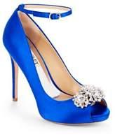 Badgley Mischka Dallas Stiletto Heel Ankle-Strap Pumps