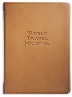 Graphic Image World Travel Leather Journal