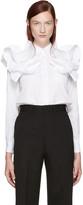 Junya Watanabe White Detailed Shirt