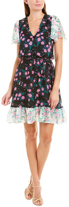 Betsey Johnson Mixed Garden A-Line Dress