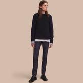 Burberry Slim Fit Raw Indigo Denim Jeans