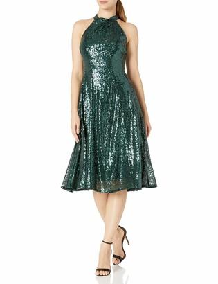 Taylor Dresses Women's Sleeveless Sequin Party Dress