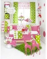 Glenna Jean Ellie & Stretch 4 Piece Crib Bedding Set
