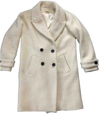 BA&SH Fall Winter 2019 Ecru Wool Coats