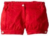 Oscar de la Renta Childrenswear - Cotton Eyelet Cute Shorts Girl's Shorts