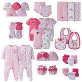 Gerber Layette Girl Floral Separates Collection in Pink/Coral