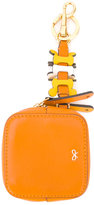 Anya Hindmarch Circulus keychain coin purse - women - Leather - One Size