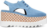 Stella McCartney Elyse cutout flatform shoes
