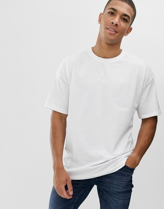 New Look oversized t-shirt in white