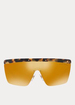 Ralph Lauren RL Hinge Shield Sunglasses
