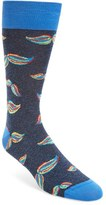 Bugatchi Men's Movember Cotton Blend Socks