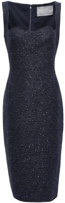 Lela Rose Sequin-embellished Jacquard Dress