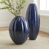 Crate & Barrel Renny Blue Vases