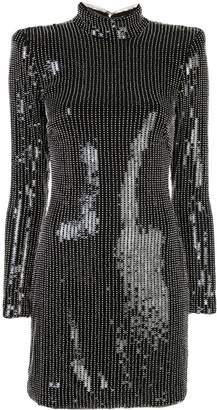 HANEY Giorgia sequinned mini dress